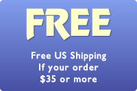 Free US shipping if your order totals $35 or more